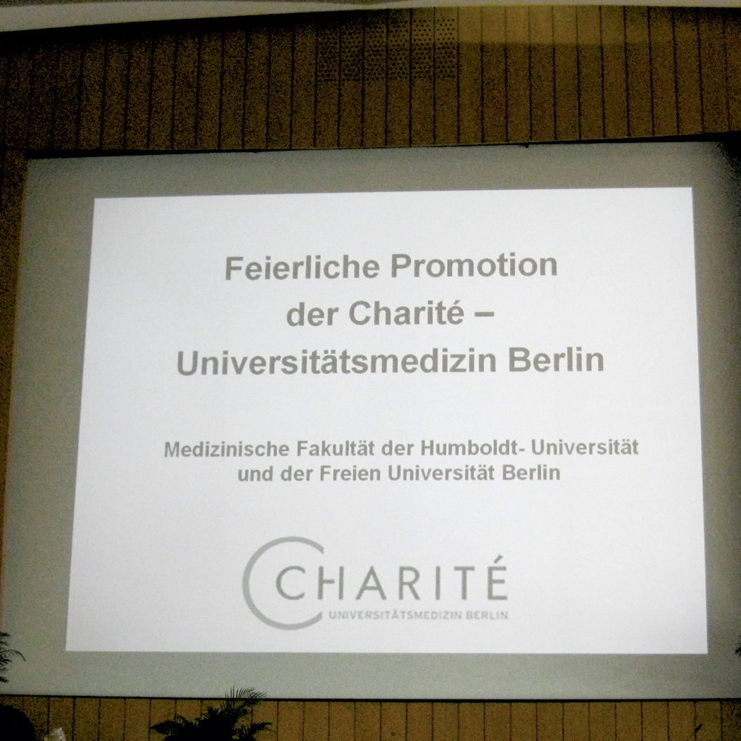 Medical Dissertation, Freie Universität Berlin (Free University Berlin)