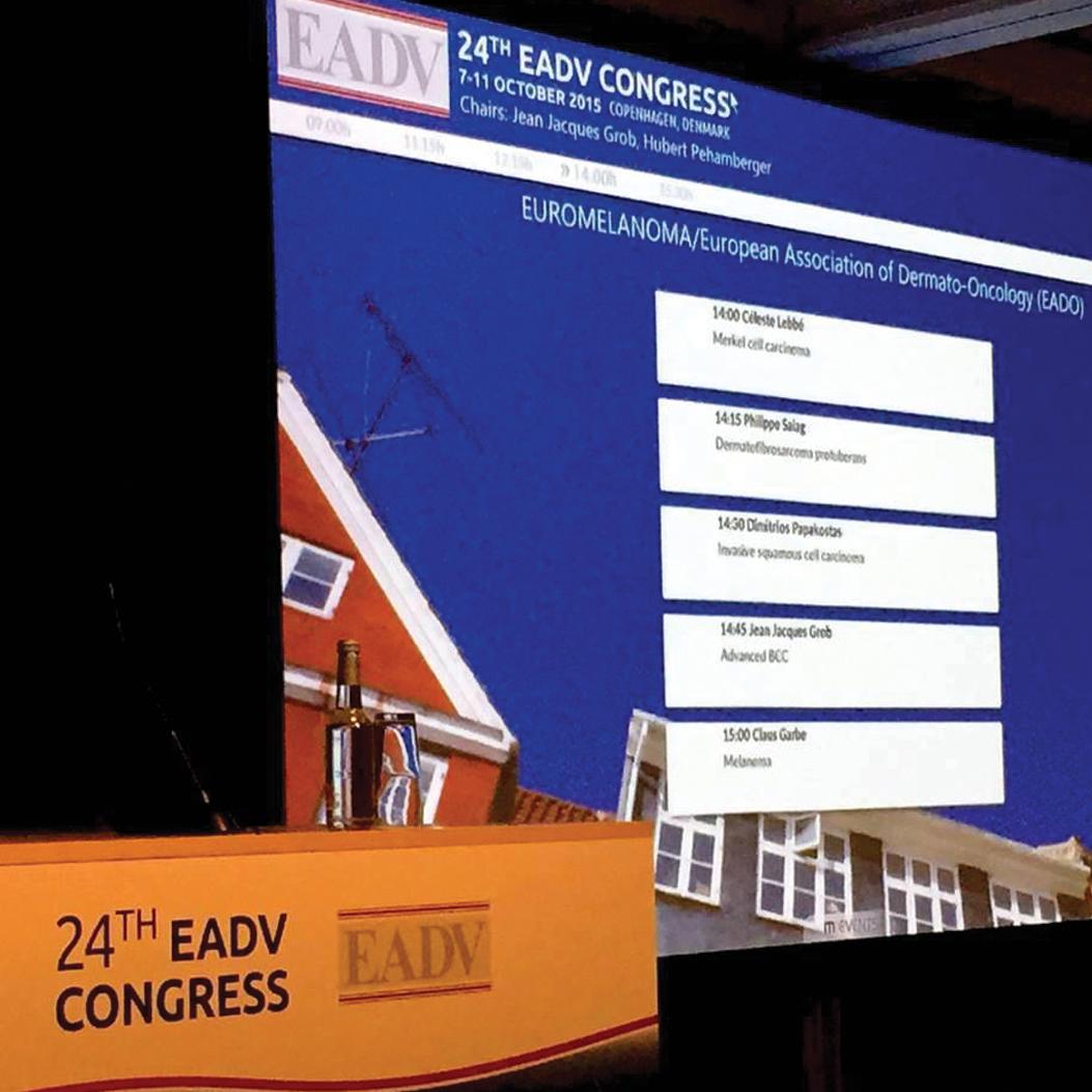 EADV Congress Amsterdam 2015