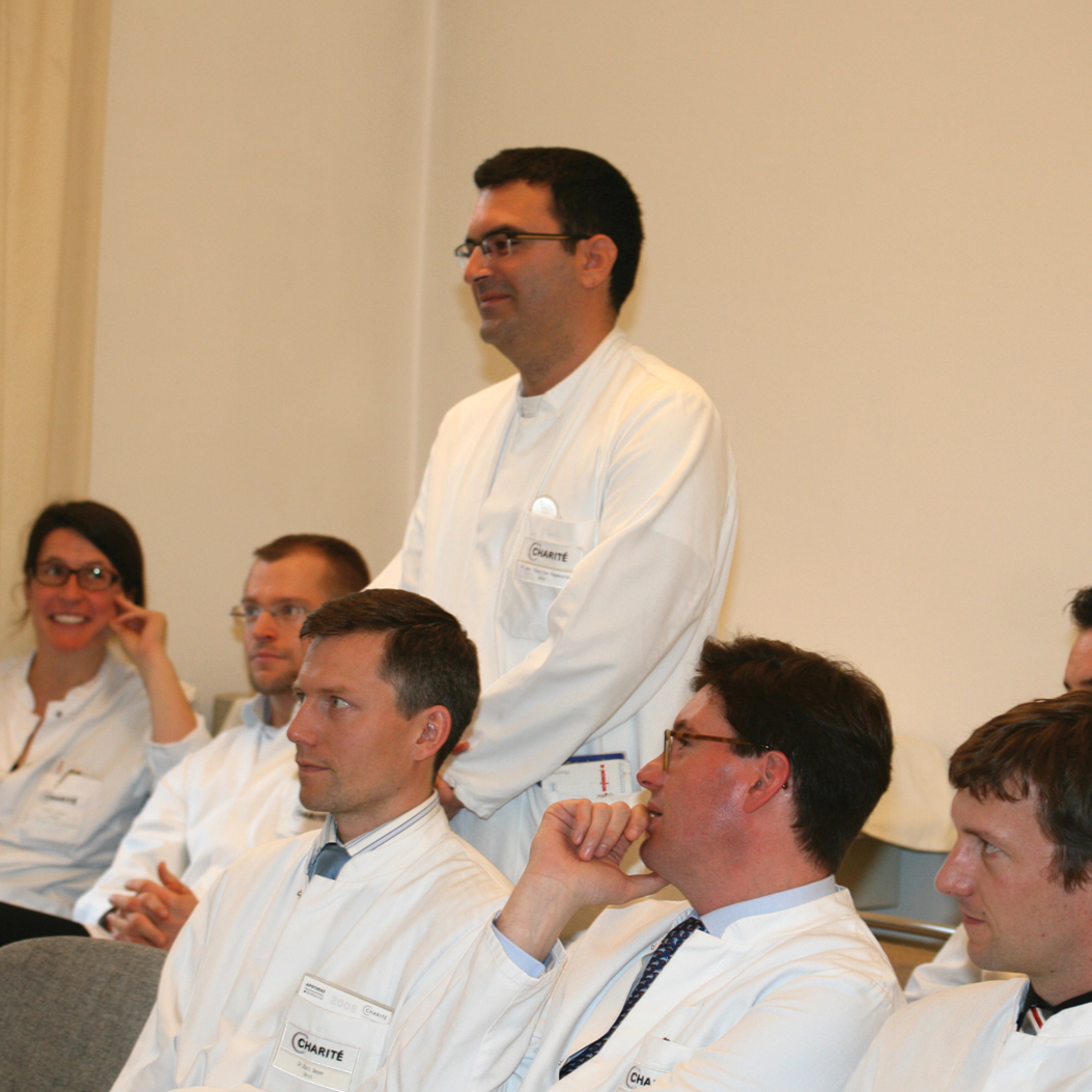 Grand rounds, Department of Dermatology, Venerology and Allergy, Charité-Universitätsmedizin Berlin